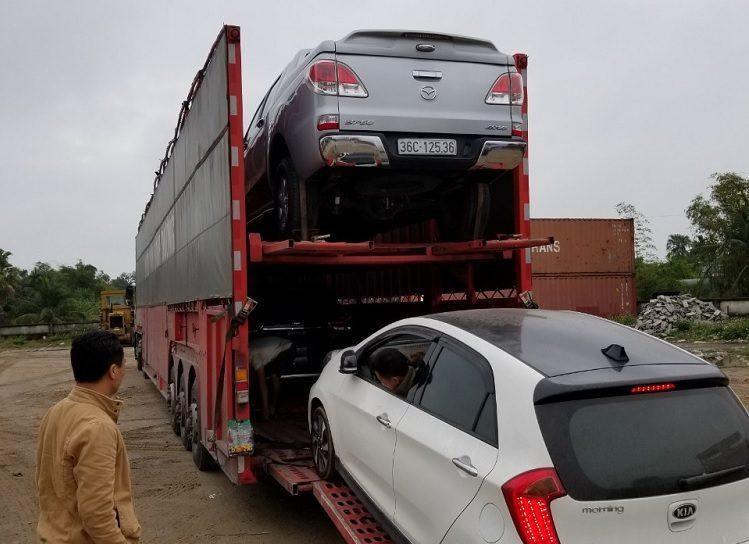 Dịch vụ vận chuyển xe ô tô từ Hà Nội vào Sài Gòn TP Hồ Chí Minh